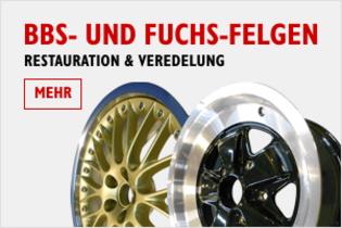 BBS- und Fuchsfelgen - Restauration und Veredelung