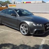 Audi RS5 mit Segment Felgen Hochglanzverdichtet in 9x20 ET 37 + 40mm HA / 30mm VA Spurverbreiterung