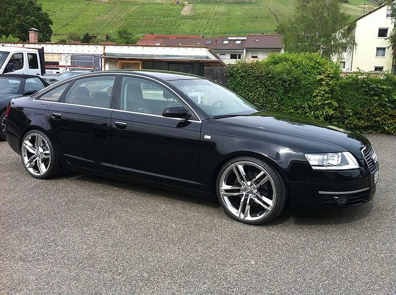 Audi a6 4f 4f1 avant 20zoll 9x20 audi s line felgen alufelgen rotor - Audi A6 4f Mit Original S7 Alufelgen In 9x20 Et 37