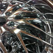 Aluminiumfelge - Hochglanzverdichtet