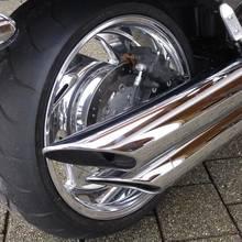 Motorradfelgen Hochglanzverdichtet Harley Sonderanfertigung