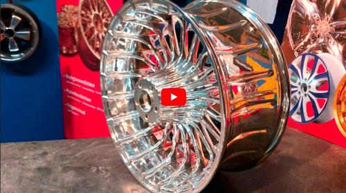 Videos Motorradfelgen Hochglanzverdichtet