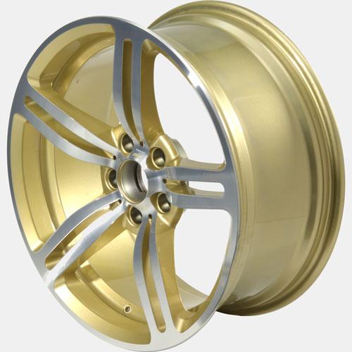 Felgen BBS Gold Bicolor