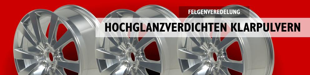 Fuchs-Felgen Hochglanzverdichtet