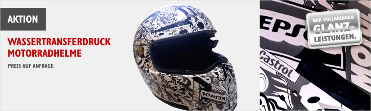 Wassertransferdruck Helme